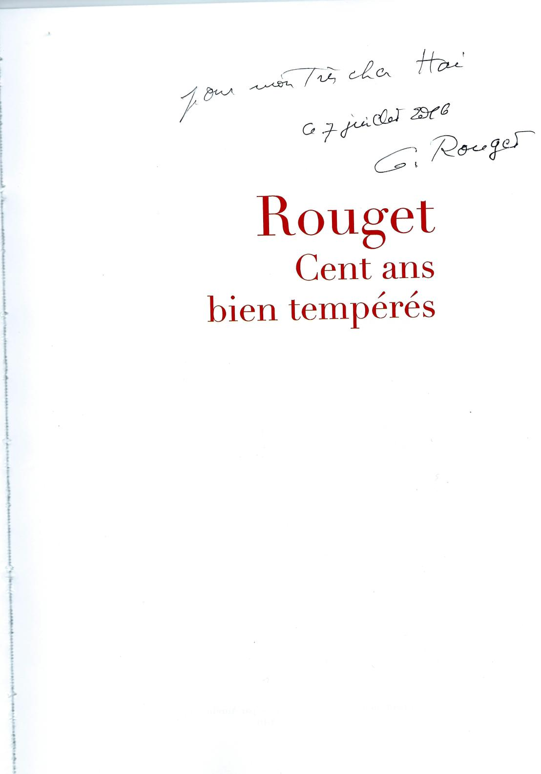 album 100 ans anniversaire G.Rouget 9.7.2016.jpg DEDICACE.jpg